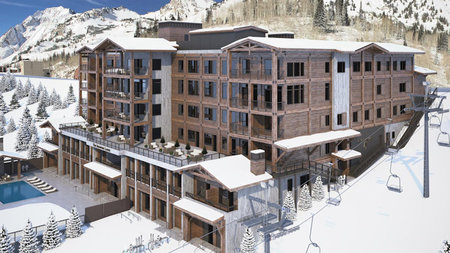 A New Ski Getaway at Snowpine Lodge in Alta, Utah