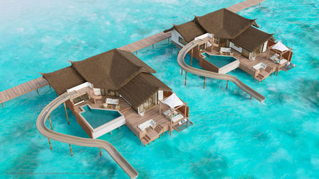 Jumeirah Vittaveli Launches Villas with Longest Water Slides in Maldives