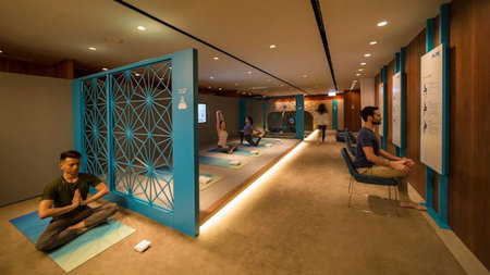 Stretch, Relax, Rejuvenate: Cathay Pacific Opens The Sanctuary by Pure Yoga