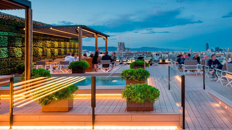Majestic Hotel Spa Barcelona Wins Best Hotel City Terrace In Europe