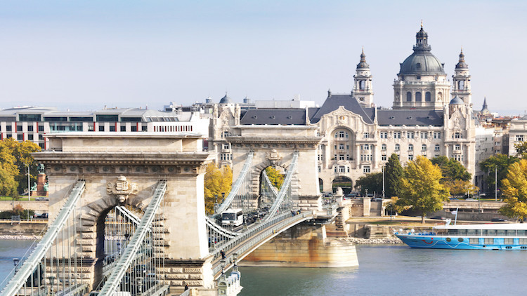 In Budapest, Four Seasons Hotel Gresham Palace IS the Destination