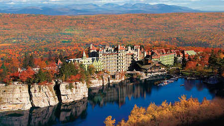 Mohonk Mountain House - A Victorian Castle in New York's Hudson Valley