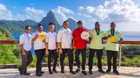 Jade Mountain's Cuisine Received Top Honors