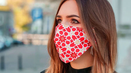 A Stylish Face Mask for Travel and at Home