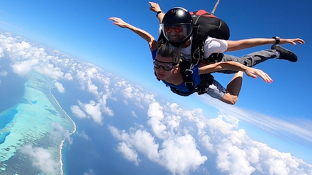 The Nautilus Maldives Launches Exclusive Skydiving Experience