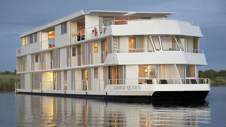Zambezi Queen, Africa's Luxury River Safari, Joins Mantis Collection