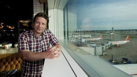 Jamie Oliver's New Restaurant Opens at London's Gatwick Airport