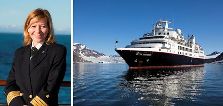 Silversea Cruises Appoints First Female Captain, Margrith Ettlin