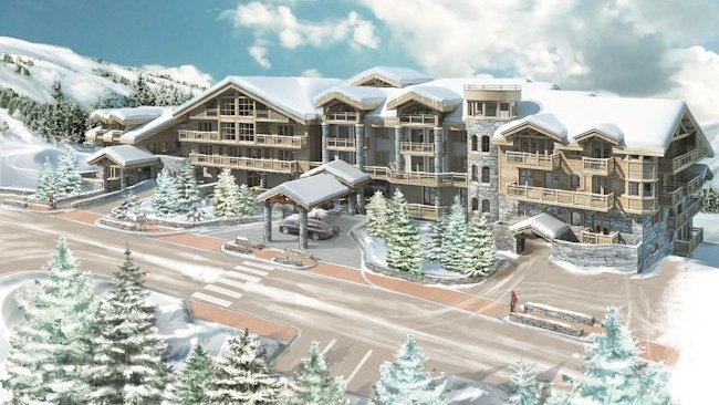 New Luxury Hotel Opens in French Alps: L'Apogée Courchevel