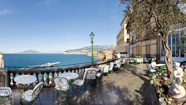 Sorrento's Grand Hotel Excelsior Vittoria Celebrates 180 Years of Romance