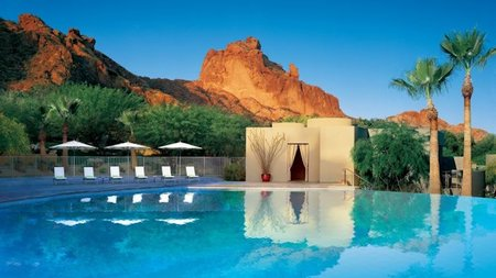 Swim, Run, Spin, Retreat at Sanctuary on Camelback Mountain