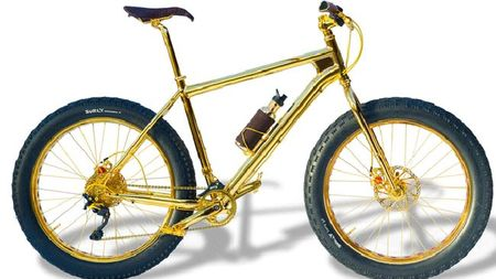 World's Most Expensive Mountain Bike Is Made With 24K Gold