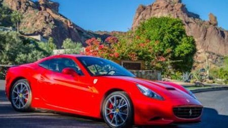 Sanctuary on Camelback Mountain's Guests Can Cruise in a Ferrari California