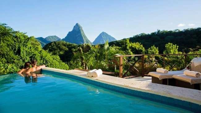 St. Lucia's Anse Chastanet Debuts Casuarina Piton Pool Suite for Winter