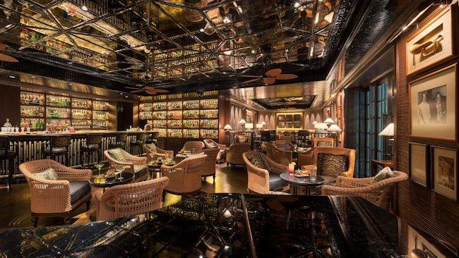 Mandarin oriental bangkok s legendary bamboo bar reopens