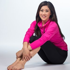 Olympian Kristi Yamaguchi Showcases Her Active Lifestyle Line in The Ritz-Carlton Spa, Half Moon Bay