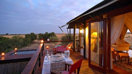 'Glamping' on Safari in Kenya at Olare Mara Kempinski Masai Mara