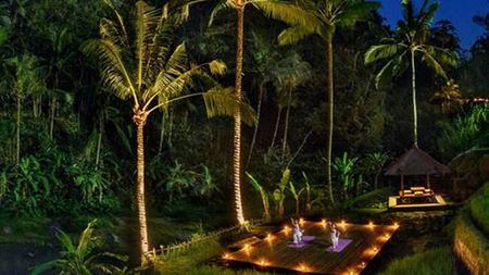 Full Moon Yoga at Four Seasons Bali