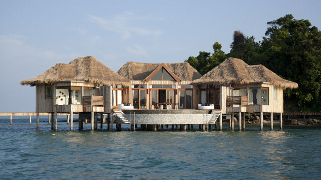 Experience the World's Best Overwater Villas