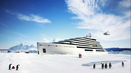 Crystal Cruises to Launch the World's Largest Megayacht