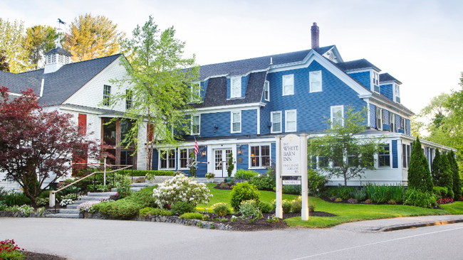 Pamper Yourself New England Style at The White Barn Inn
