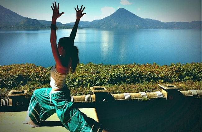 Yoga with a View for September Yoga Month