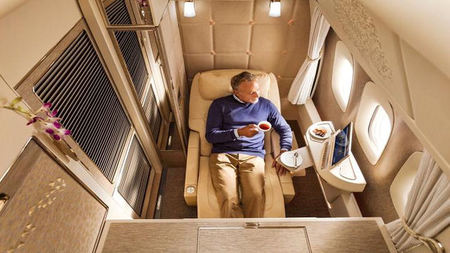 Emirates Introduces Mercedes-Inspired First Class Suites