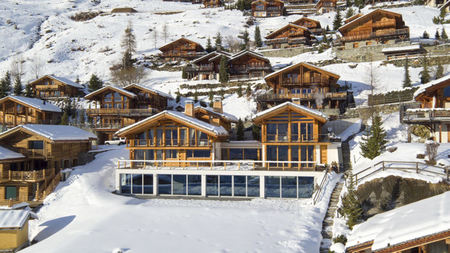 Switzerland: Luxury in the Form of Ski Chalets