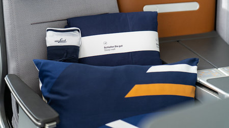 Lufthansa Enhances Business Class Sleeping Comfort with New Dream Collection