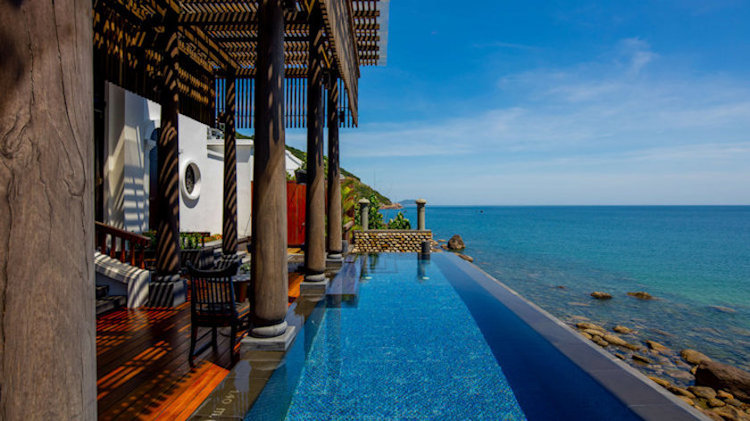 The Seaside Villa to Escape to on a Private Peninsula in Danang, Vietnam