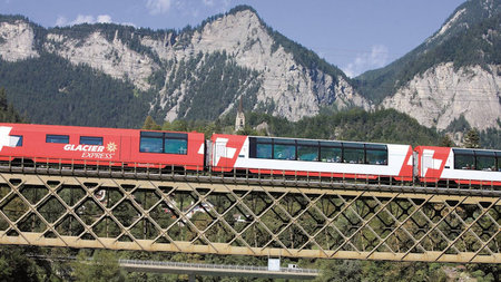 One for the Bucket List: Ride the Glacier Express in Excellence Class