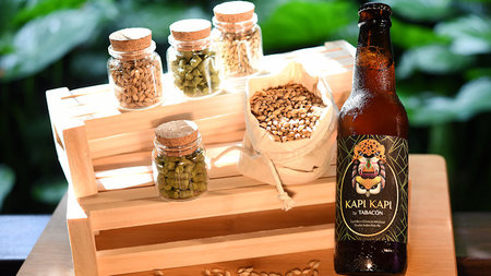 Beer-infused spa treatment...in the rainforest?
