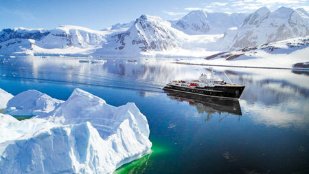 The 'Legend' Superyacht Is Now Offering Luxurious Tours in Antarctica