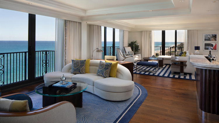 The Breakers' Premiere Suites Unveil Masterful Makeover by Tihany Design