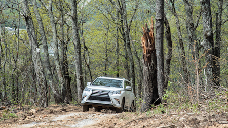 Lexus Unveils Off-Road Course at Blackberry Mountain Resort