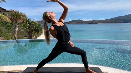 Virtual Yoga, Live from Necker Island