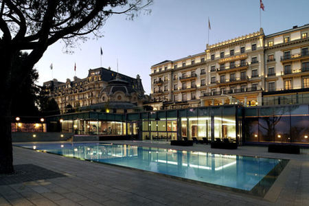 Switzerlands Beau-Rivage Palace Unveils Two New Grand Spaces