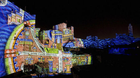 Jerusalem's Festival of Light Transforms Old City Into Multimedia Art Installation