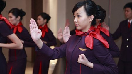Hong Kong Airlines Crew Trained in Martial Arts to Handle Unruly Passengers