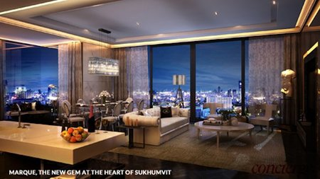 Exclusive City Lifestyle at New Ultra-Luxury Bangkok Condominium, Marque Sukhumvit