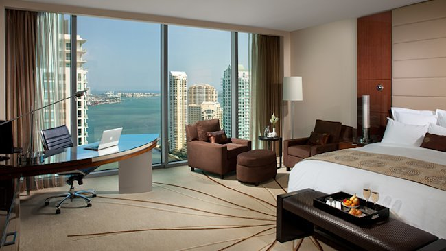 Miami's JW Marriott Marquis Offers Valentine's Stay Package