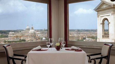 Easter Brunch Overlooking Rome at Hotel Hassler Roma