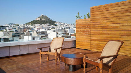 Penthouse Package Offered at NEW Hotel, Athens