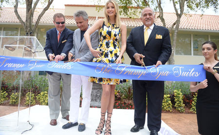 Ivanka Trump Unveils Luxurious, all-new Trump Spa Suites in Miami