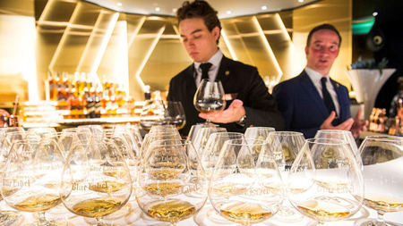 Luxury Scotch Whisky Embassy Lands at Amsterdam Schiphol Airport