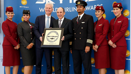 Qatar Airways Wins World's Best Business Class