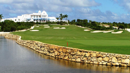The Greg Norman Designed Golf Course at Cuisinart Resort & Spa