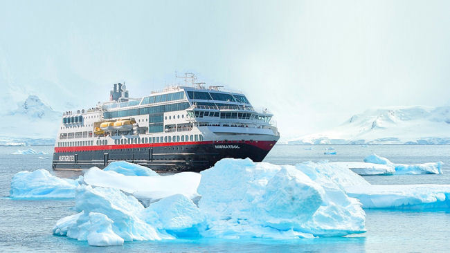 Hurtigruten Launches 10 New Antarctica Sailings with MS Midnatsol