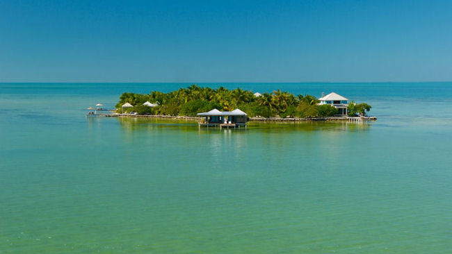 Arrive In Style For A Private Island Villa Vacation At Cayo Espanto