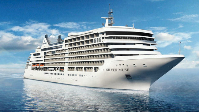 Silversea's New Flagship, Silver Muse, To Visit New York City on October 5